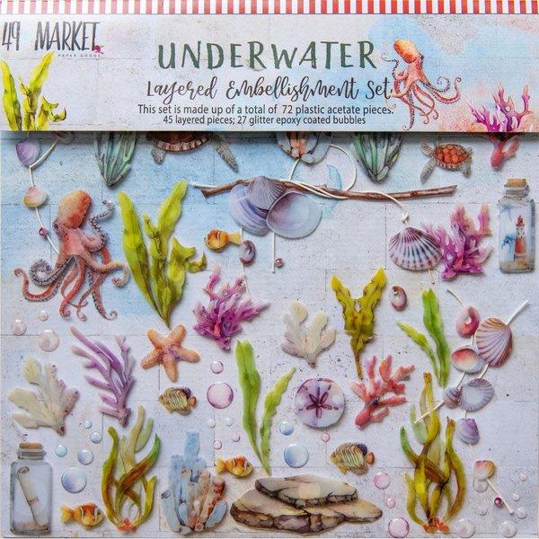 49 and Market Layered Embellishments 12X12 (underwater)