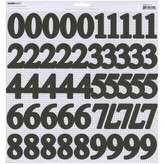 Kaisercraft Number Stickers (ebony)