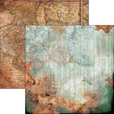 Ciao Bella Patterned Paper  12x11.6 - Le Repubbliche Marinare (la rotta delle stelle)