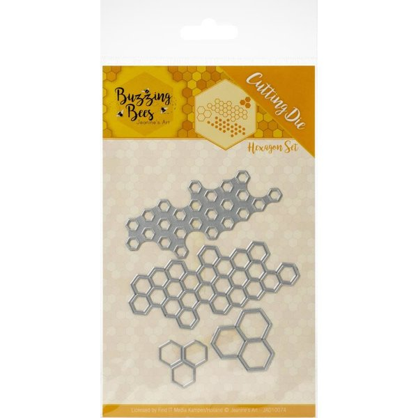 Find It Trading Die - Hexagon Set (buzzing bees)