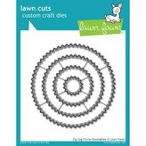 Lawn Fawn Dies (stackables zig zag circle)