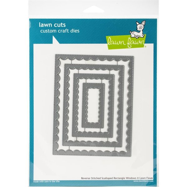 Lawn Fawn Dies (reverse stitched scalloped rectangle windows)