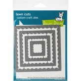Lawn Fawn Dies (reverse stitched scalloped square windows)