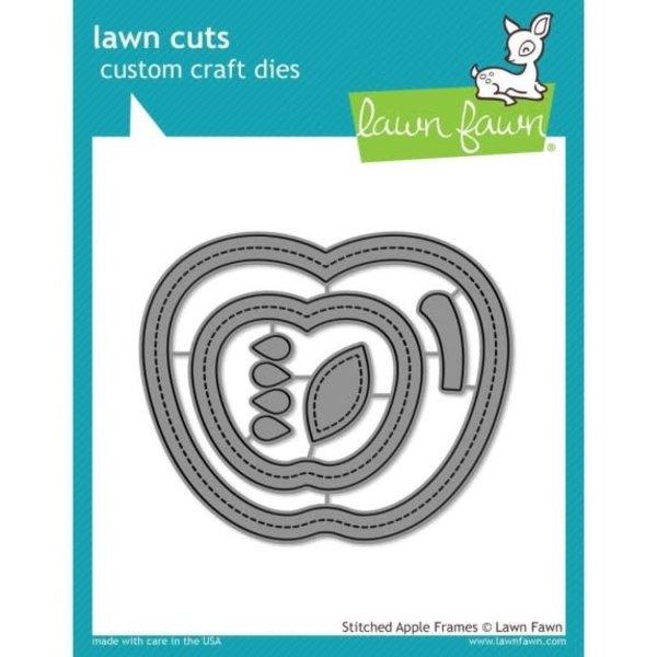 Lawn Fawn Dies (stitched apple frames)