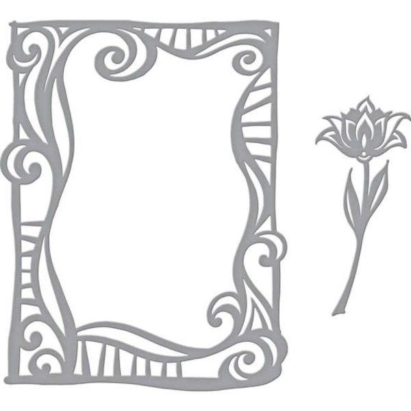 Spellbinders Shapeabilities Dies (swirl frame)