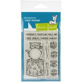 Lawn Fawn Clear Stamps (fortune teller tabby)