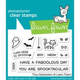Lawn Fawn Clear Stamps (tiny halloween)