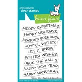 Lawn Fawn Clear Stamps (winter wavy sayings)