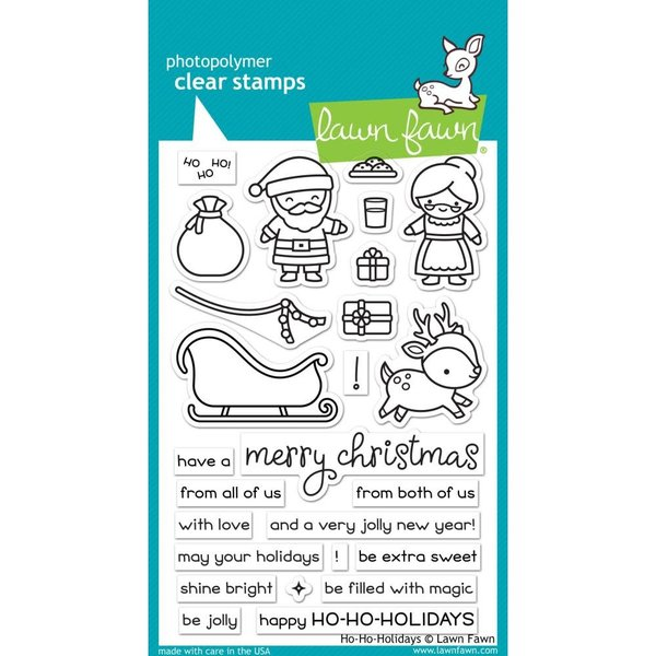Lawn Fawn Clear Stamps (ho-ho-holidays)