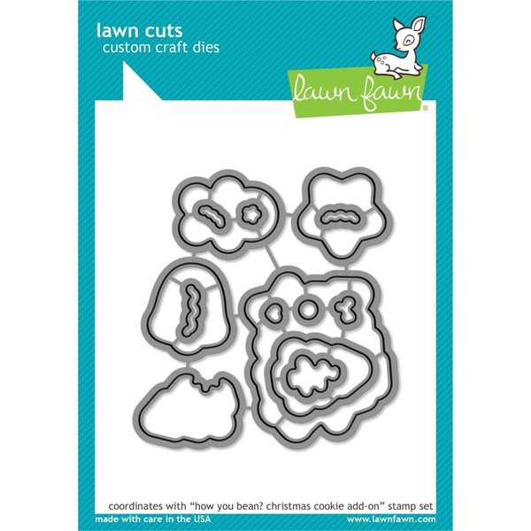 Lawn Fawn Dies (how you bean? christmas cookie add-on)
