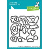 Lawn Fawn Dies (christmas fishes)