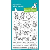 Lawn Fawn Clear Stamps (mice on ice)
