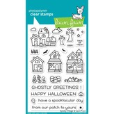 Lawn Fawn Clear Stamps (spooky village)