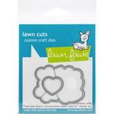 Lawn Fawn Dies (how you bean? conversation heart add-on)