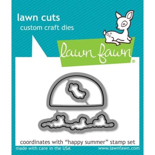 Lawn Fawn Dies (happy summer)