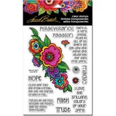 Stampendous Laurel Burch Clear Stamps (floral reflections)