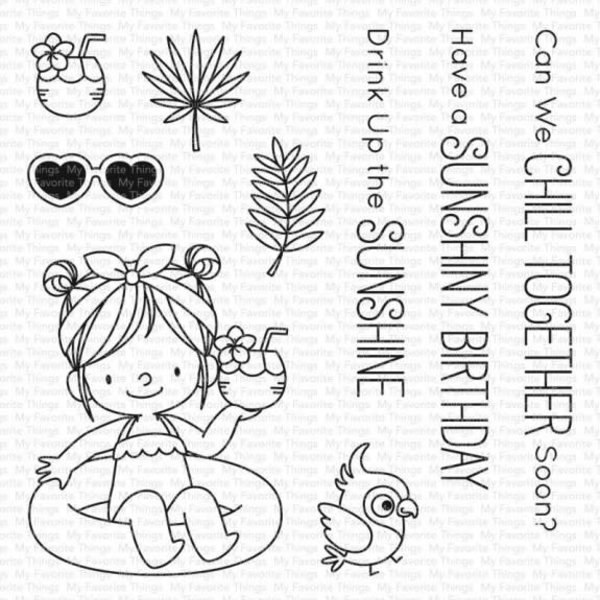 My Favourite Things Stamps (drink up the sunshine )