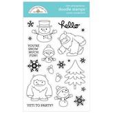 Doodlebug Clear Doodle Stamps (winter wonderland)