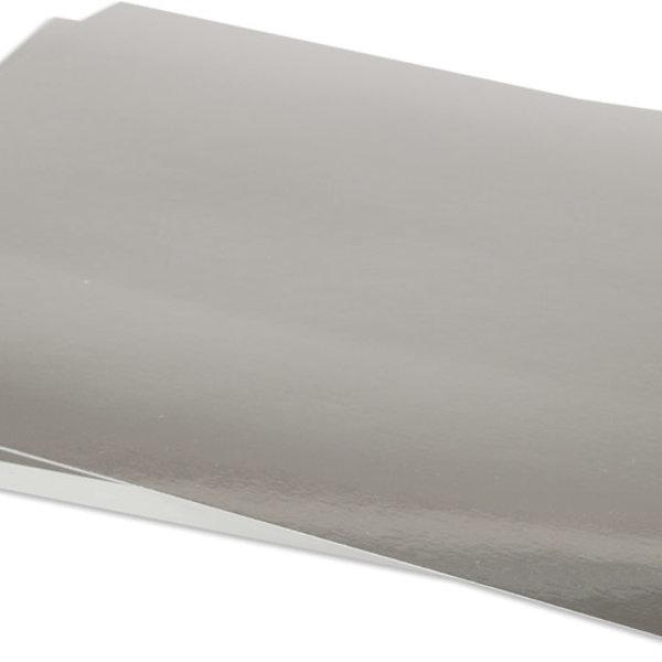 Bazzill Foil Cardstock 8.50X11 (silver)