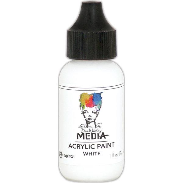 Dina Wakley Media Acrylic Paint 1oz (white)