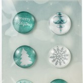 Kaisercraft Adhesive Curios (let it snow)