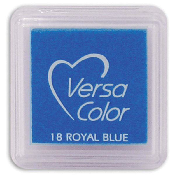Tsukineko VersaColor - Pigment Mini Ink Pad (royal blue)