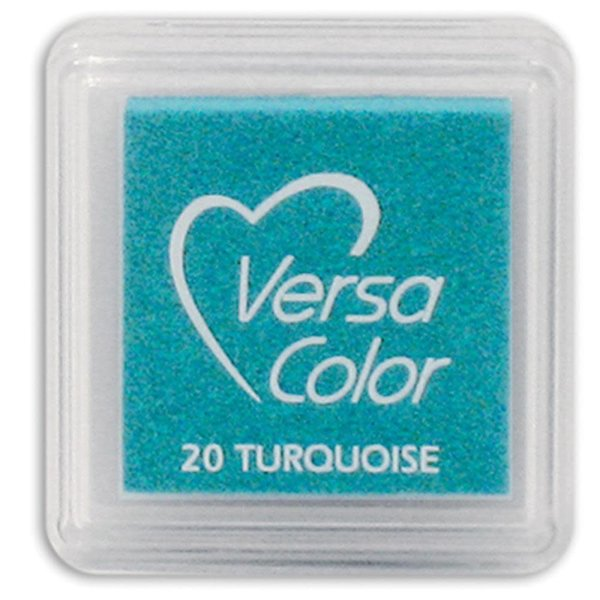 Tsukineko VersaColor - Pigment Mini Ink Pad (turquoise)