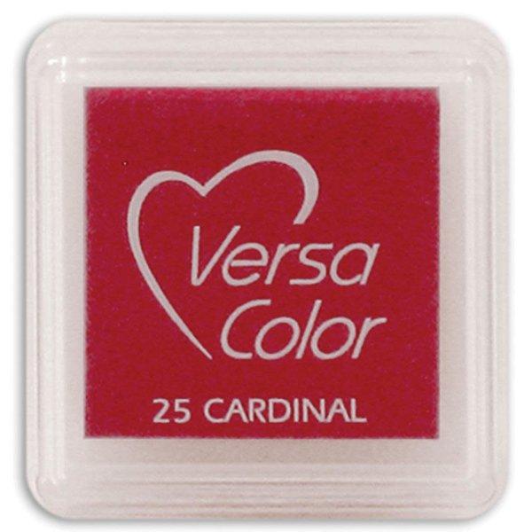 Tsukineko VersaColor - Pigment Mini Ink Pad (cardinal)