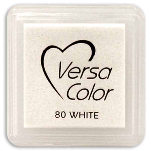 Tsukineko VersaColor - Pigment Mini Ink Pad (white)