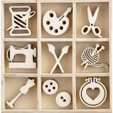 Kaisercraft Wood Mini Themed Embellishments (crafternoon)