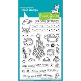 Lawn Fawn Clear Stamps (christmas fishes)