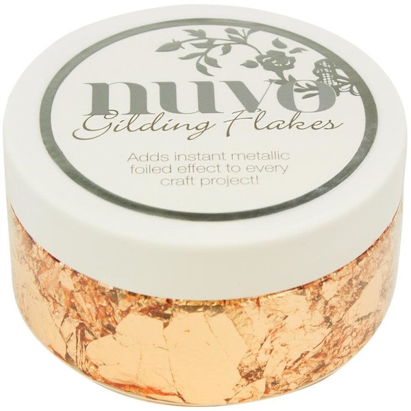 Nuvo Gilding Flakes (sunkissed copper)