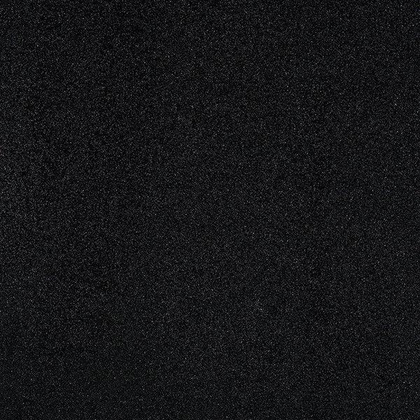 American Crafts Glitter Cardstock 12X12 - Black