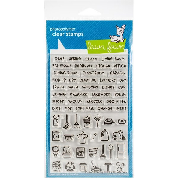 Lawn Fawn Clear Stamps (plan on it: spring cleaning)