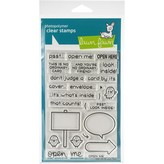 Lawn Fawn Clear Stamps (open me)
