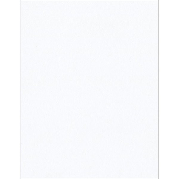 Bazzill Classic Smooth Cardstock 8.5X11 - White