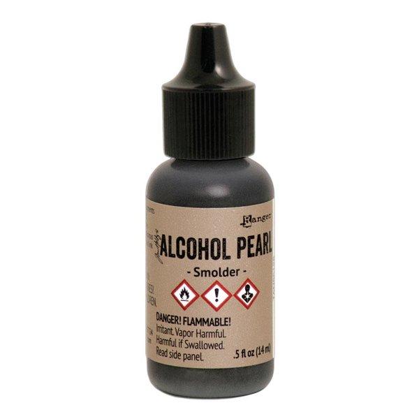 Ranger Tim Holtz Alcohol Ink Pearls .05oz - Smolder