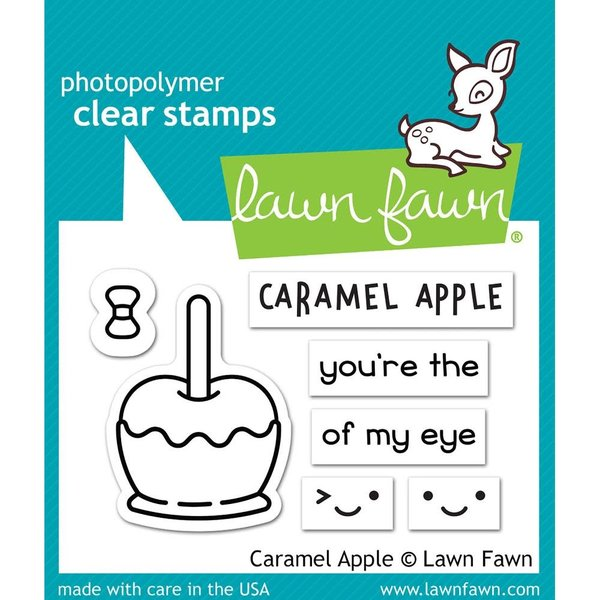 Lawn Fawn Clear Stamps (caramel apple)