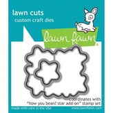 Lawn Fawn Dies (how you bean? star add-on)