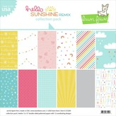 Lawn Fawn Double-Sided Collection Pack 12X12 (hello sunshine remix)