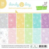 Lawn Fawn Single-Sided Petite Paper Pack 6X6 (dandy day)