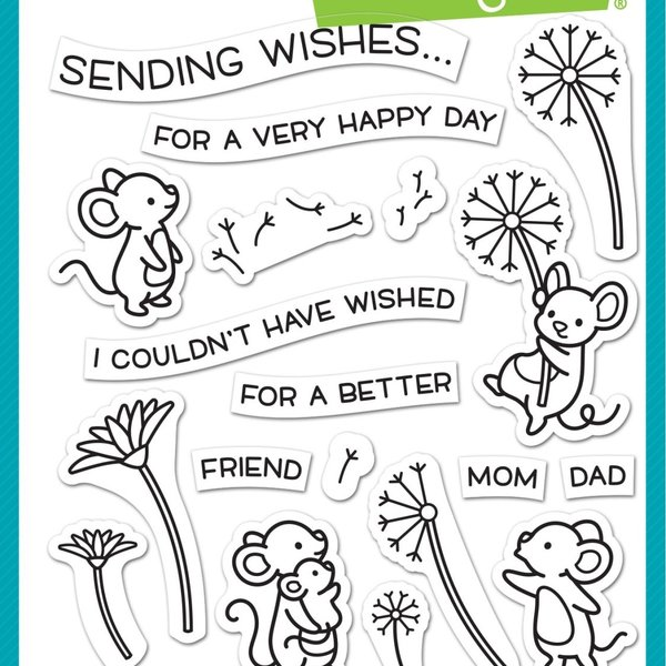 Lawn Fawn Clear Stamps (dandy day)