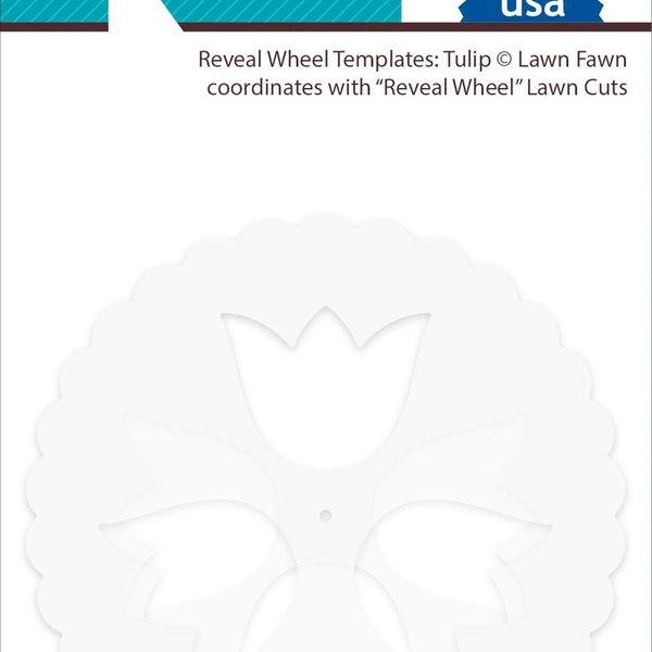 Lawn Fawn Reveal Wheel Template (tulip)