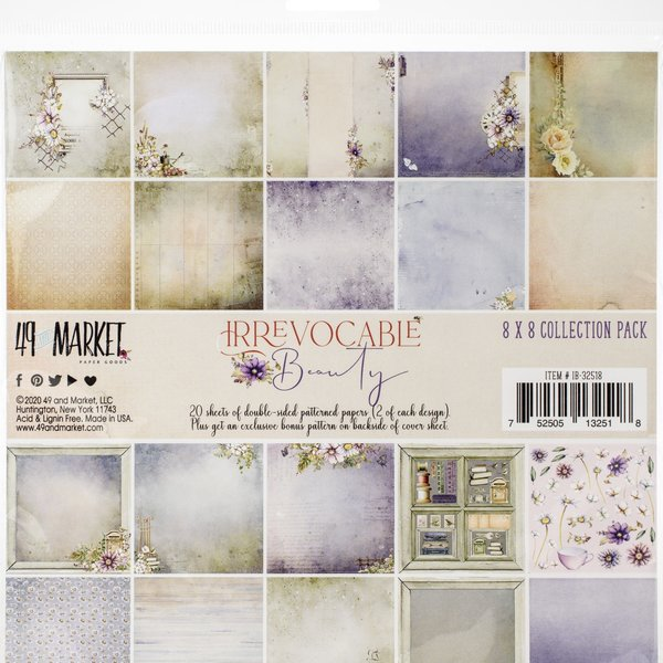 49 and Market Collection Pack 8X8 (irrevocable beauty)