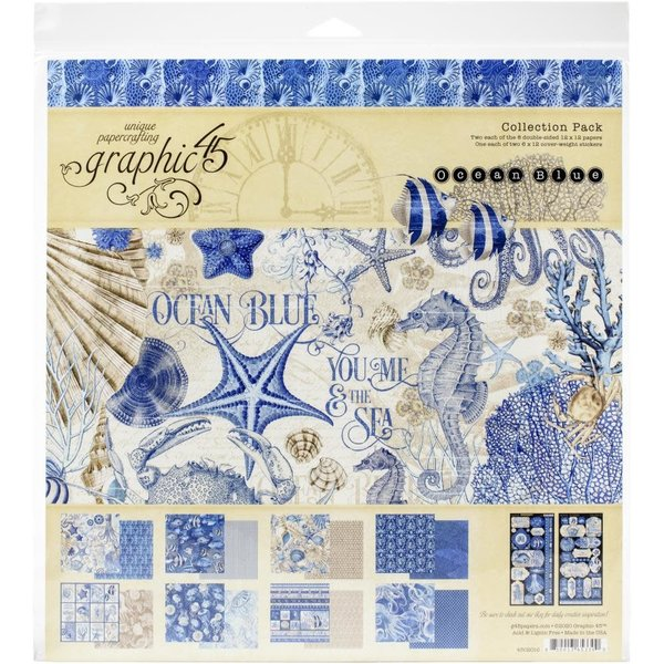 Graphic 45 Collection Pack 12x12 (ocean blue)