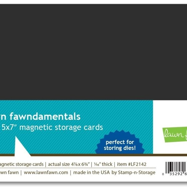 Lawn Fawn Magnetic Storage Cards (5x7)