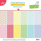 Lawn Fawn Double-Sided Collection Pack 12X12 (really rainbow scallops)