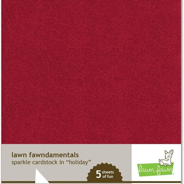 Lawn Fawn Fawndamentals  - Sparkle Cardstock (holiday)