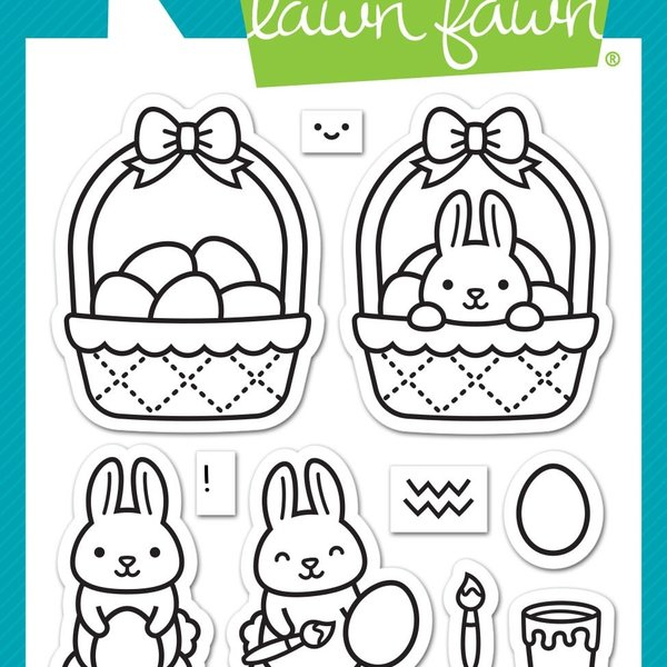 Lawn Fawn Clear Stamps (easter before 'n afters)