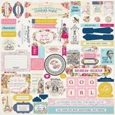 Authentique Paper Dame Cardstock Stickers 12X12 (details)
